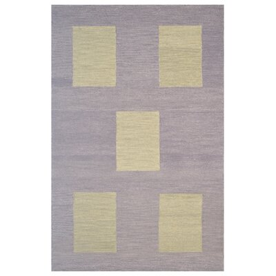 Wool Hand-Tufted Brown/Green Area Rug Rug Size: 6 x 6