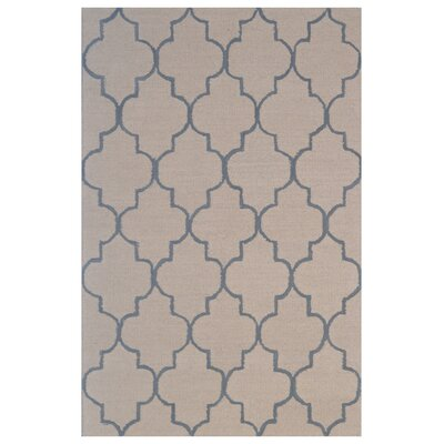 Wool Hand-Tufted Rust/Gray Area Rug Rug Size: 5 x 8