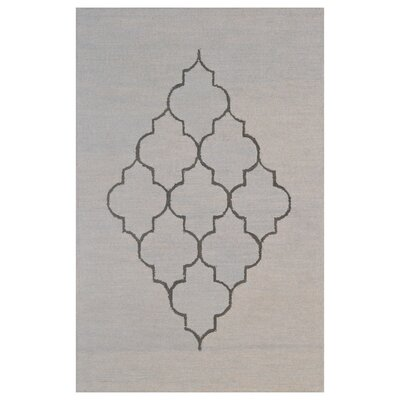 Wool Hand-Tufted Green/Gray Area Rug Rug Size: Rectangle 6 x 6