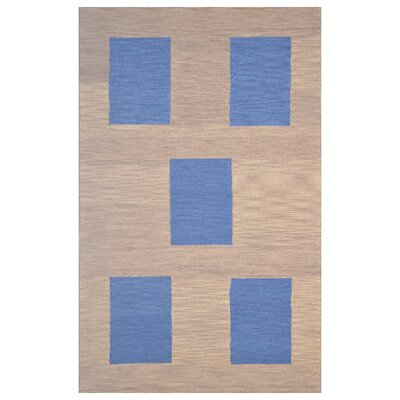 Wool Hand-Tufted Brown Area Rug Rug Size: 5 x 8