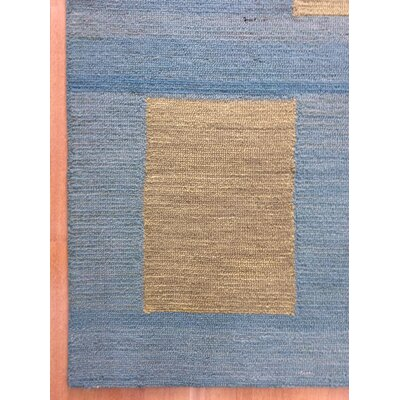 Wool Hand-Tufted Blue/Green Area Rug
