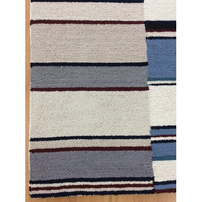 Wool Hand-Tufted Beige/Gray Area Rug