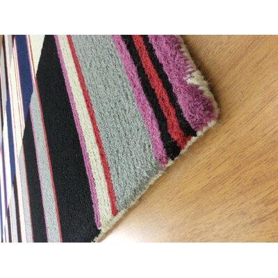 Wool Hand-Tufted Gray/Black Area Rug