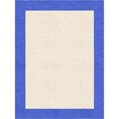 Degen Hand Tufted Persian Blue/Beige Area Rug Rug Size: 5 x 8