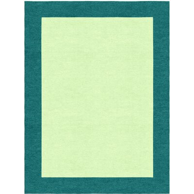 Godsey Hand-Tufted Wool Light Green Area Rug Rug Size: Rectangle 5 x 8