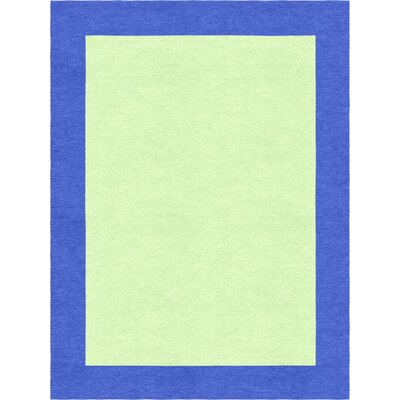 Godsey Hand-Tufted Wool Light Green Area Rug Rug Size: Rectangle 8 x 10