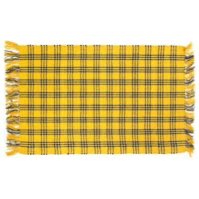 Safflower Yellow/Blue Area Rug