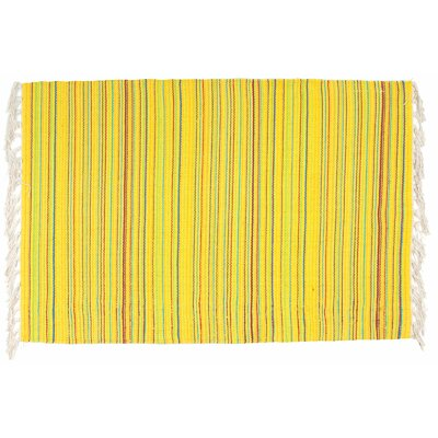 Piazza Yellow Red/Blue Area Rug