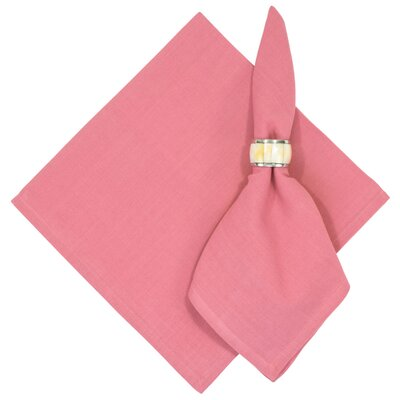 Treston Solid Napkin Color: Pink