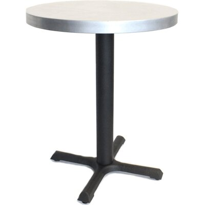 24 in. Round Dining Table Top Finish: Zinc