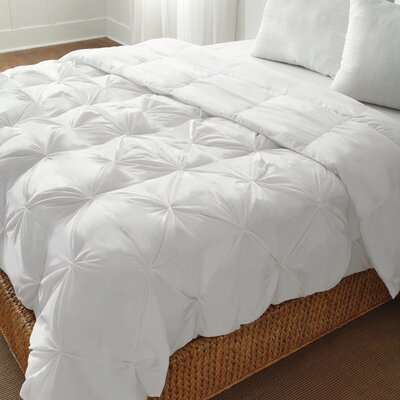 Pintuck Down Alternative Comforter Size: Full/Queen