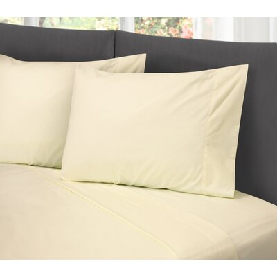 Lula Cotton Rich Wrinkle Free 200 Thread Count Sheet Set Size: Full/Double, Color: Ivory