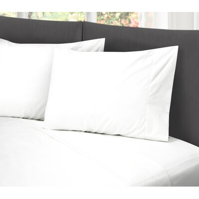 Lula Cotton Rich Wrinkle Free 200 Thread Count Sheet Set Size: Queen, Color: White