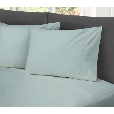 Lula Cotton Rich Wrinkle Free 200 Thread Count Sheet Set Size: Twin, Color: Light Blue