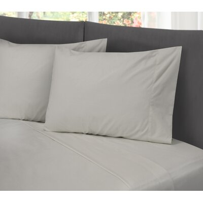 Lula Cotton Rich Wrinkle Free 200 Thread Count Sheet Set Size: Queen, Color: Gray