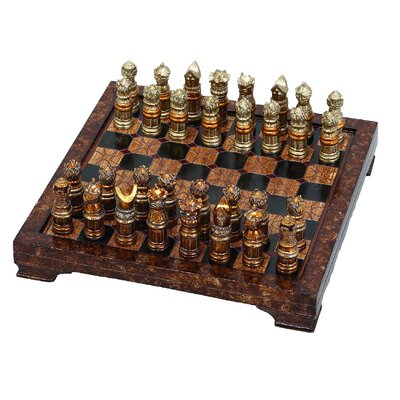 Decorative Hosting Styled Chess Board Set
