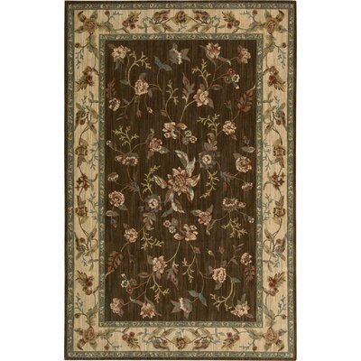 Gattis Brown Area Rug Rug Size: 36 x 56