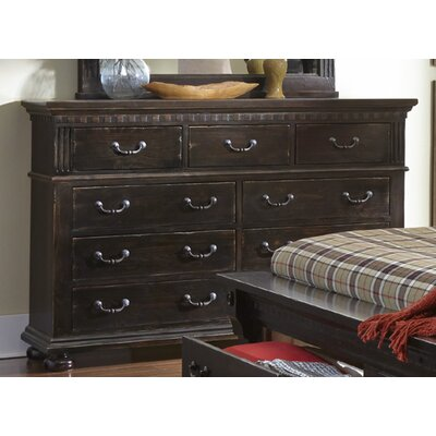 Bristol Woods 9 Drawer Dresser