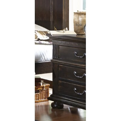 Beales 3 Drawer Nightstand