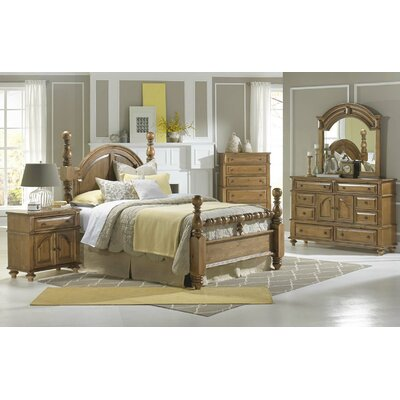Atherton Four Poster Customizable Bedroom Set