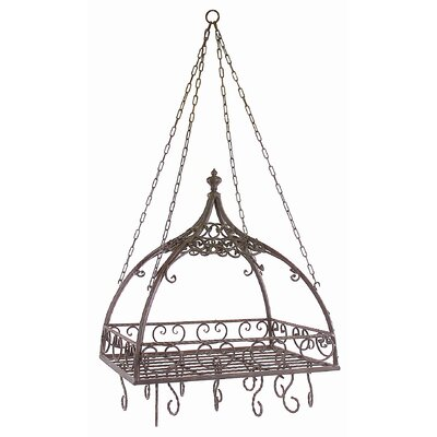48-Quart Domed Pot Rack with Hooks