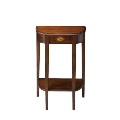 Melchior Console Table Finish: Plantation Cherry