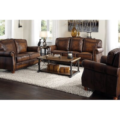 Mcdonnell Leather Club Chair
