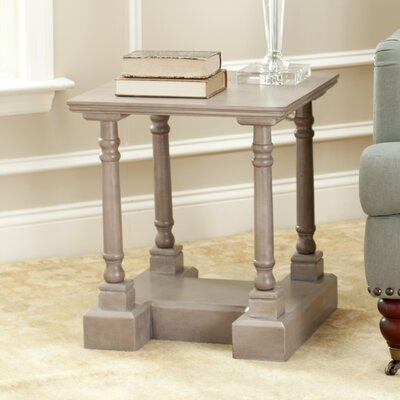 Flinders End Table Color: Vintage Grey