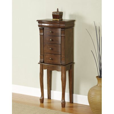Barrett Jewelry Armoire with Mirror