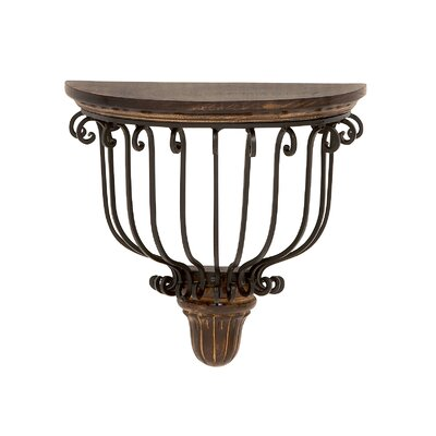Cool and Classic Wood Metal Wall Bracket