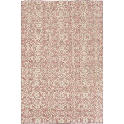Eramana Light Pink Area Rug Rug Size: 4 x 6