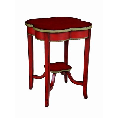 Christley End Table Finish: Distressed Rouge