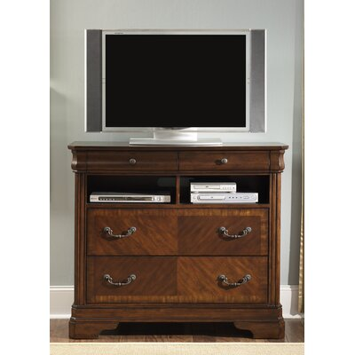Abe 4 Drawer Media Chest