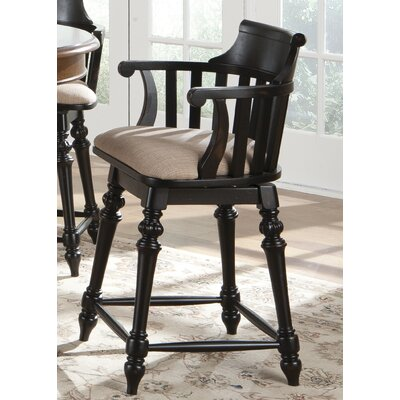 Albrightsville 30 Swivel Bar Stool Finish: Toffee