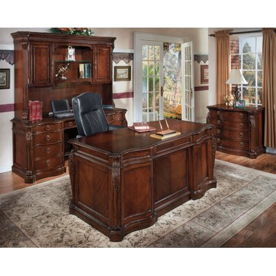 Beley 4-Piece Standard Desk Office Suite