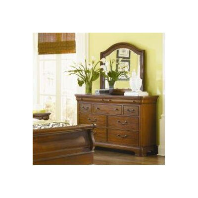 Edith 9 Drawer Dresser with Mirror