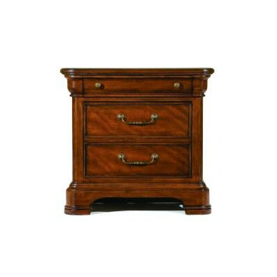 Edith 3 Drawer Nightstand