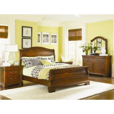 Edith Sleigh Customizable Bedroom Set