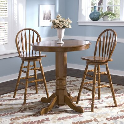 Acadian Pub Table with Optional Stools