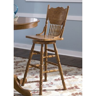 Acadian Swivel Bar Stool