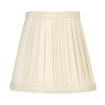 Clip 5 Silk Empire Candelabra Shade Color: Off White