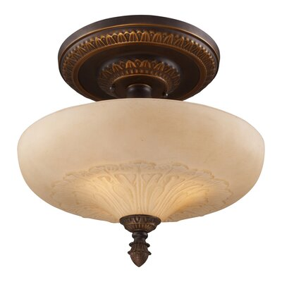 Antioch Semi Flush Mount No. of bulbs: 3