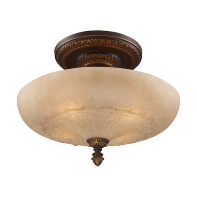 Antioch Semi Flush Mount No. of bulbs: 4