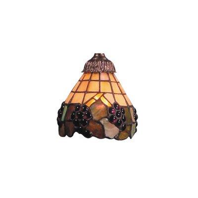 Antoinette Fruit Design 6 Glass Bowl Ceiling Fan Fitter Shade