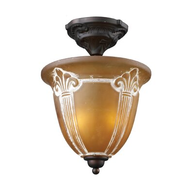 Antioch 2-Light Semi Flush Mount