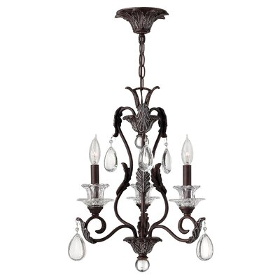 Marcellus 3-Light Candle-Style Chandelier