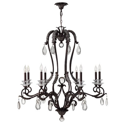 Keith 8-Light Candle-Style Chandelier