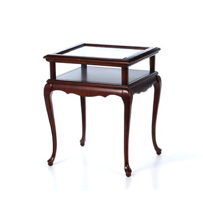Ballian End Table Color: Plantation Cherry