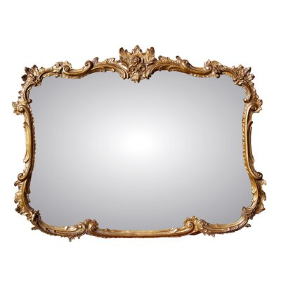 Buffet Wall Mirror Finish: Antique Gold