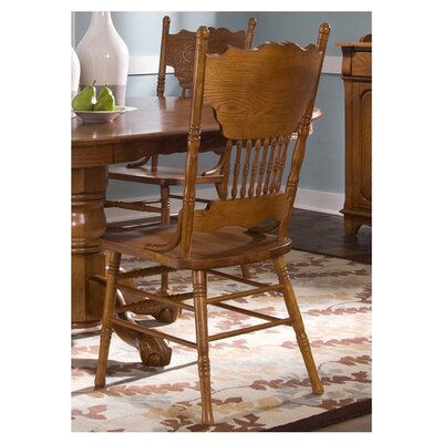 Acadian Double Press Back Side Chair (Set of 2)